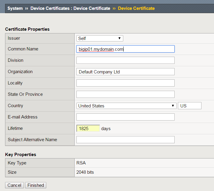 Fixing Expired Ssl Certificate On F5 Gtm Layer 77
