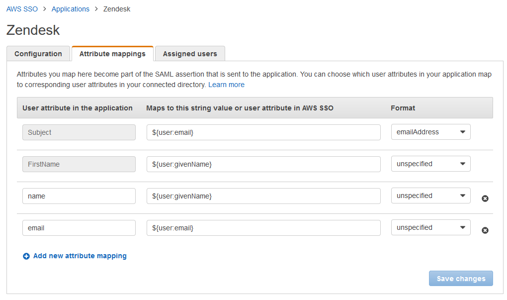 Authenticating ZenDesk via AWS SSO – Layer 77